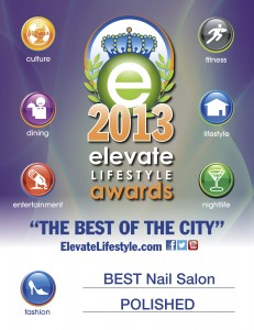 Elevate Lifestyle Best of the City Nail Salon