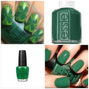 St. Patrick's Day Manicure Ideas