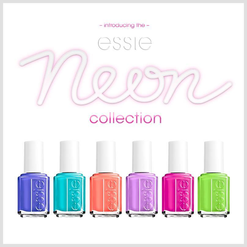 NEW! Essie\'s Neon Collection - Polished Nail Bar | Charlotte & Raleigh