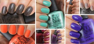 OPI Nordic Collection at Polished Nail Bar in Charlotte NC