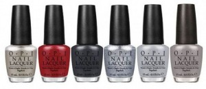 OPI 50 shades of gray collection at Polished Nail Bar