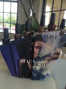 OPI Starlight Collection at Polished Nail Bar in Charlotte NC