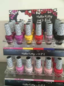 opi hello kitty collection at polished nail bar in charlotte nc