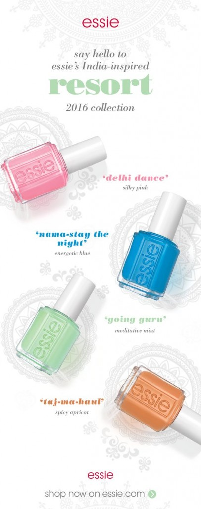 essie resort 2016 collection at polished nail bar