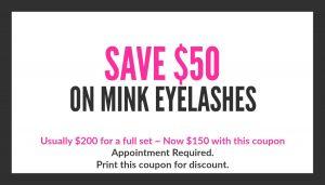 mink eyelash extensions special polished nail bar