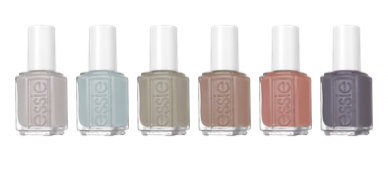 essie wild nudes collection at polished nail bar in charlotte nc