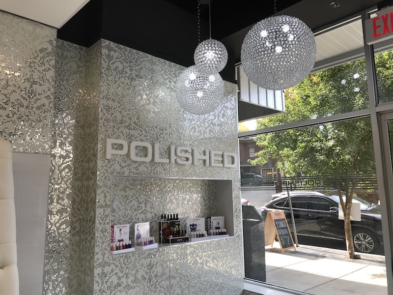 Polsihed Nail Bar Raleigh Glenwood South 222 Glenwood Ave