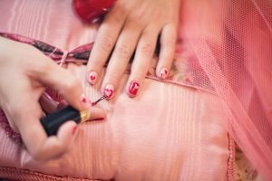 Valentine's Day offerings from Polished Nail Bar
